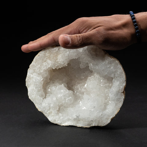 Genuine Calcite Geode From Morocco (3.6 lbs)