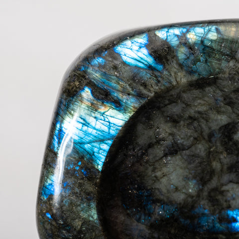 Polished Labradorite Small Bowl (4 lbs)