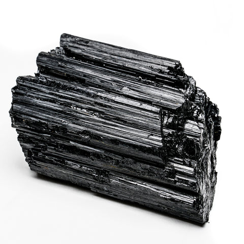 BLACK TOURMALINE CRYSTAL FROM BRAZIL (1.25 lbs)