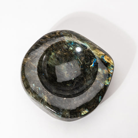 Polished Labradorite Small Bowl (3.6 lbs)