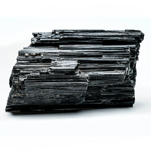 BLACK TOURMALINE CRYSTAL FROM BRAZIL (1.4 lbs)