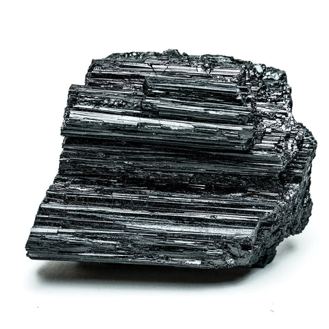 BLACK TOURMALINE CRYSTAL FROM BRAZIL (1.10 lbs)
