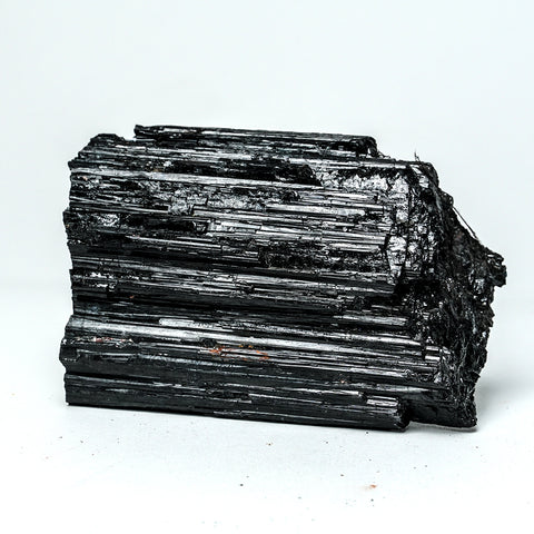 BLACK TOURMALINE CRYSTAL FROM BRAZIL (1.45 lbs)