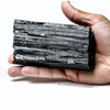 BLACK TOURMALINE CRYSTAL FROM BRAZIL (1.5 lbs)