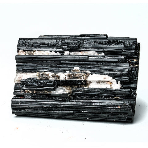 BLACK TOURMALINE CRYSTAL FROM BRAZIL ( 354.2 grams)