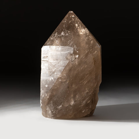 Polished Smoky Quartz Crystal Point From Brazil (8 lbs)