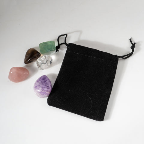 5-Stone Healing Pouch