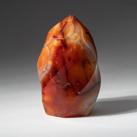 Polished Carnelian Agate Freeform from Madagascar (.9 lbs)