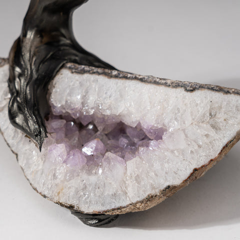 Custom - Genuine Amethyst Clustered Gemstone Tree on Amethyst Matrix (The Protection Tree)