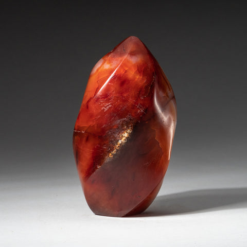 Polished Carnelian Agate Freeform from Madagascar (1 lb)