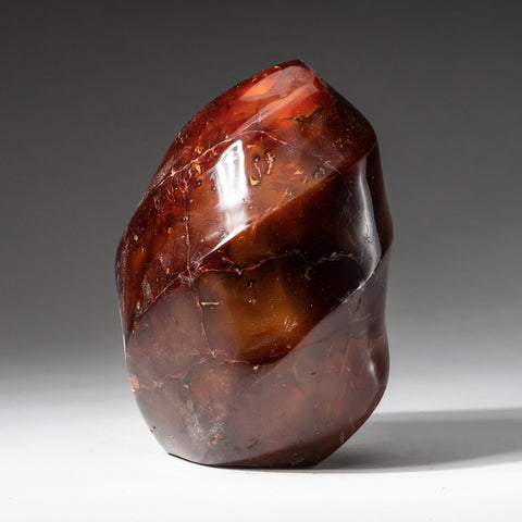 Polished Carnelian Agate Freeform from Madagascar (1.8 lbs)