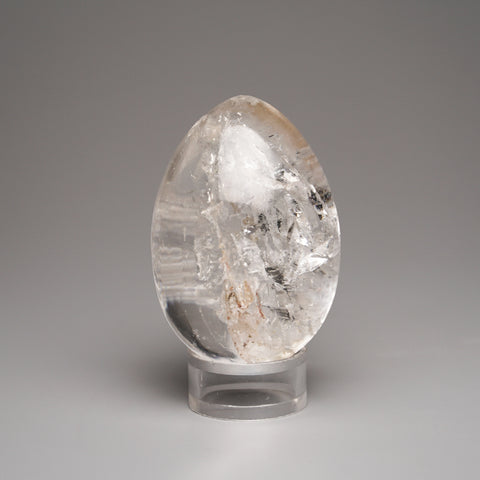 Polished Clear Quartz Egg from Brazil (127.8 grams)