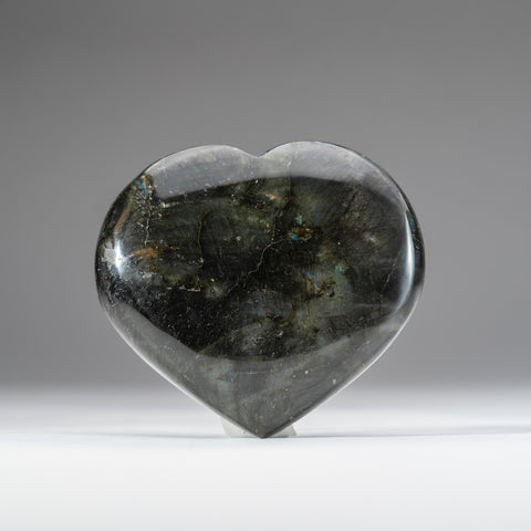 Polished Labradorite Heart (1.2 lbs)