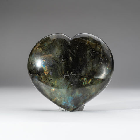 Polished Labradorite Heart (2 lbs)