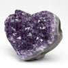 Amethyst Cluster Heart from Uruguay (155 grams)