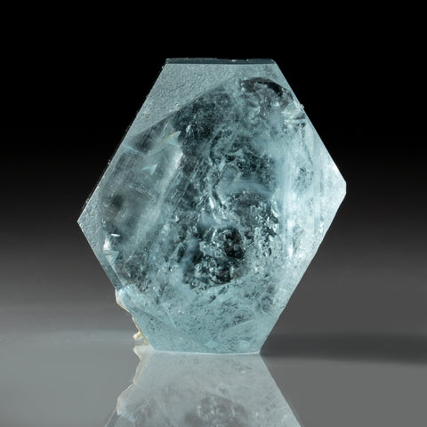 Aquamarine Gem Crystal from Nagar, Gilgit District, Gilgit-Baltistan, Pakistan (152.2 grams)