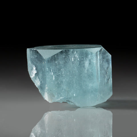 Aquamarine Gem Crystal from Nagar, Gilgit District, Gilgit-Baltistan, Pakistan (133 grams)