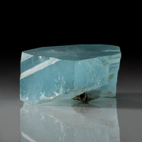 Aquamarine Gem Crystal from Nagar, Gilgit District, Gilgit-Baltistan, Pakistan (376 grams)