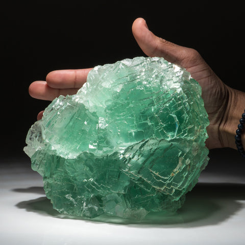 Fluorite (zoned crystals) from Naica Mine, Saucillo, Chihuahua, Mexico