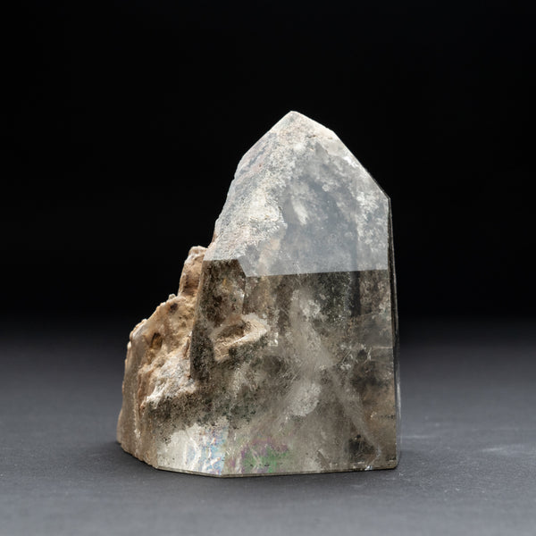 Gem Garden Quartz Polished Point From Brazil (2.2 lbs)