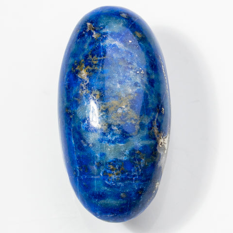 Polished Lapis Lazuli Palm Stone from Afghanistan (36 grams)
