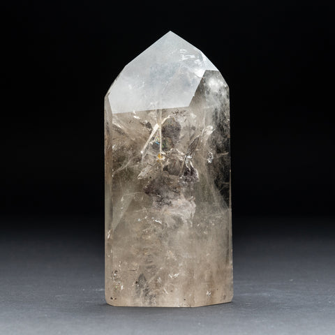 Gem Garden Quartz Polished Point From Brazil (2.4 lbs)