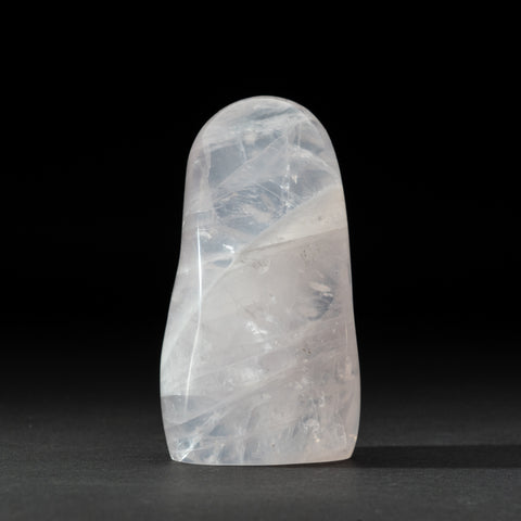 Polished Rose Quartz Freeform From Madagascar (1.8 lbs)