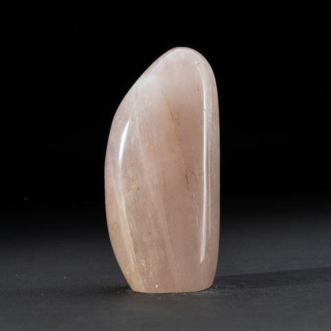 Polished Rose Quartz Freeform From Madagascar (1.6 lbs)