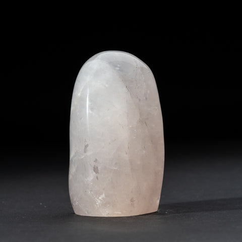 Polished Rose Quartz Freeform From Madagascar (1.4 lbs)