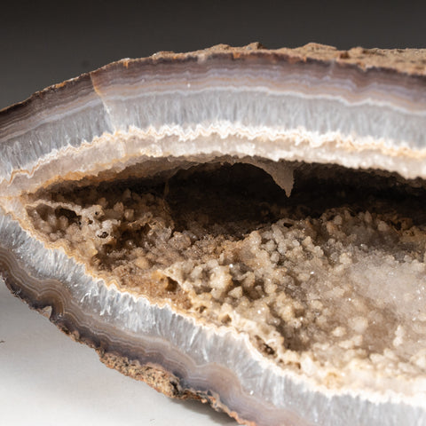 Druzy Geode Agate Freeform From Brazil (12 lbs)