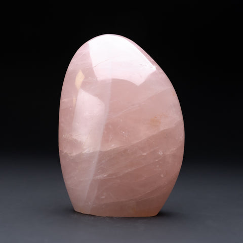 Polished Rose Quartz Freeform From Madagascar (2.5 lbs)