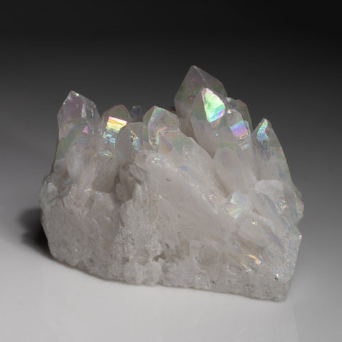 Angel Aura Quartz Crystal Cluster (222.4 grams)