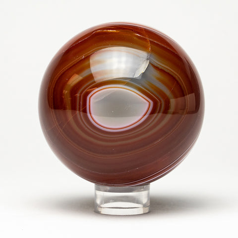 "Polished Brown Agate Sphere (3"" Diameter)"