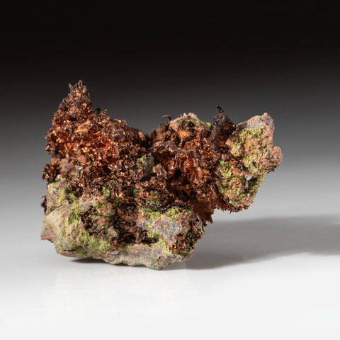 Crystalized Copper from Keweenaw Peninsula Copper District, Michigan