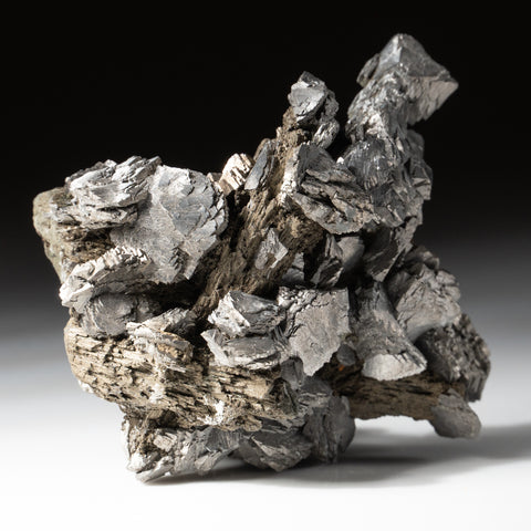 Arsenopyrite on Ilvaite from Baotou League, Inner Mongolia Autonomous Region, China