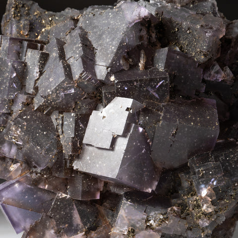 Purple Fluorite from Elmwood Mine, Carthage, Smith County, Tennessee