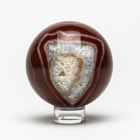 Brown Agate Sphere (2.75 Diameter, 447 grams)
