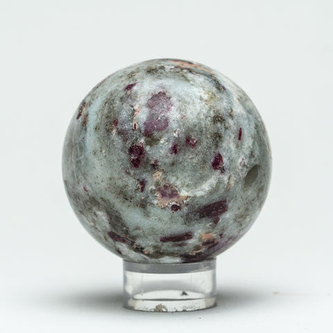 "Small Amethyst Agate Sphere (2.2"" Diameter, 246.1 Grams)"