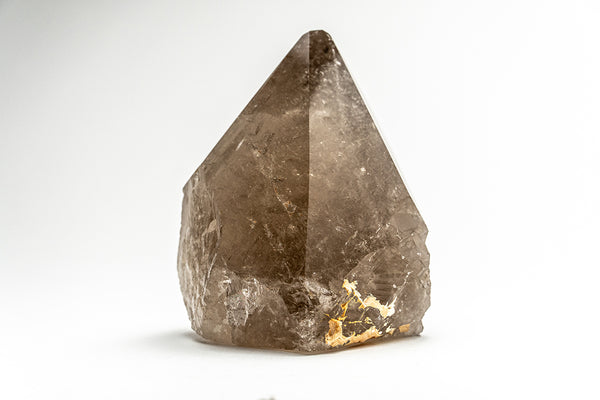 Polished Smoky Quartz Crystal Point From Brazil (1.18 lbs)