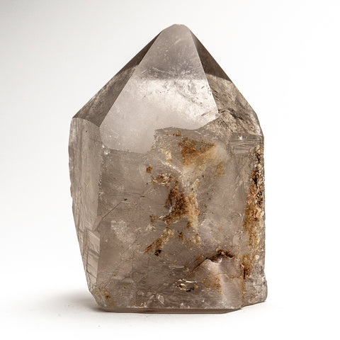Polished Smoky Quartz Crystal Point From Brazil (1.20 lbs)