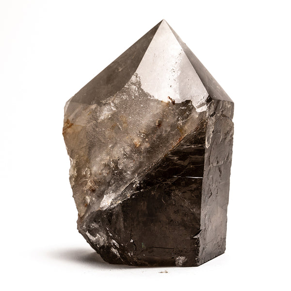 Polished Smoky Quartz Crystal Point From Brazil (3 lbs)