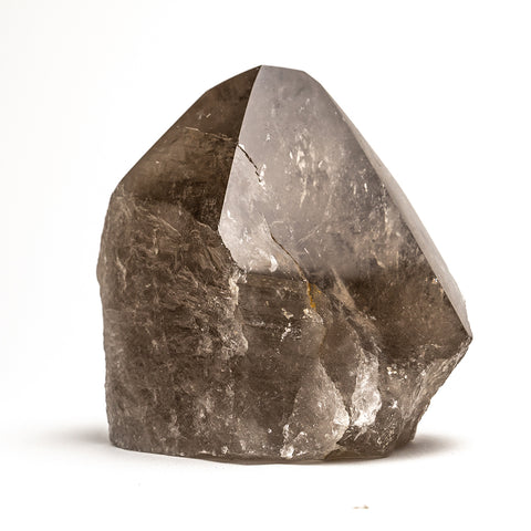 Polished Smoky Quartz Crystal Point From Brazil (3.5 lbs)