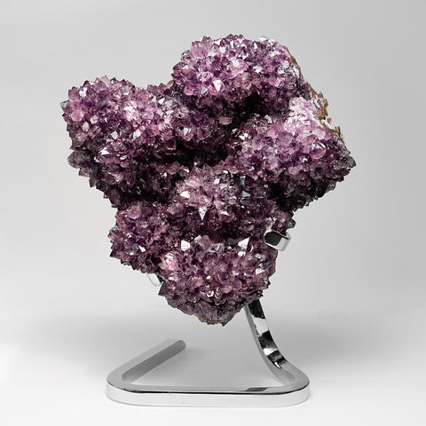 Amethyst Cluster on Stand from Uruguay (12.5 lbs)