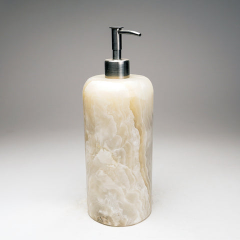 Handmade Natural Mexican Onyx Soap Dispenser (3 lbs)