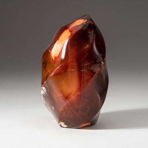 Carnelian Agate Flame Freeform from Madagascar (1.6 lbs)