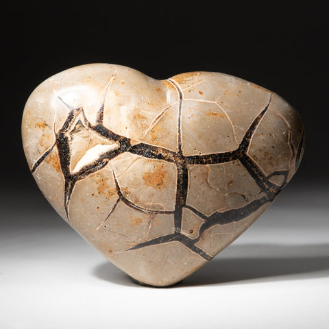 Septarian Druzy Heart from Madagascar (1.4 lbs)