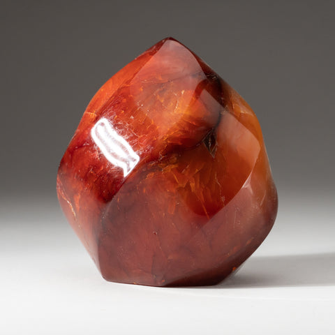 Carnelian Agate Flame Freeform from Madagascar (1.8 lbs)