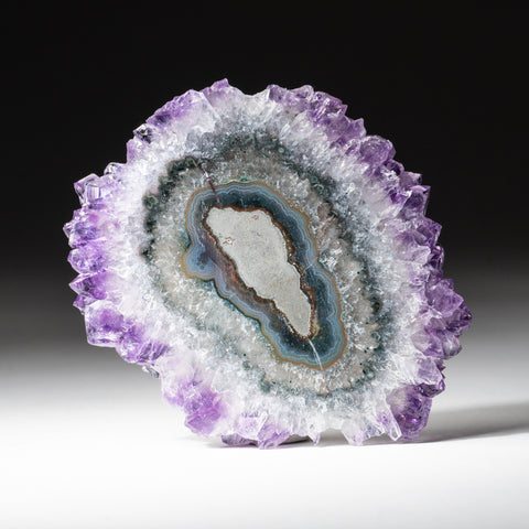 Amethyst Stalactite Slice from Uruguay (47.6 grams)