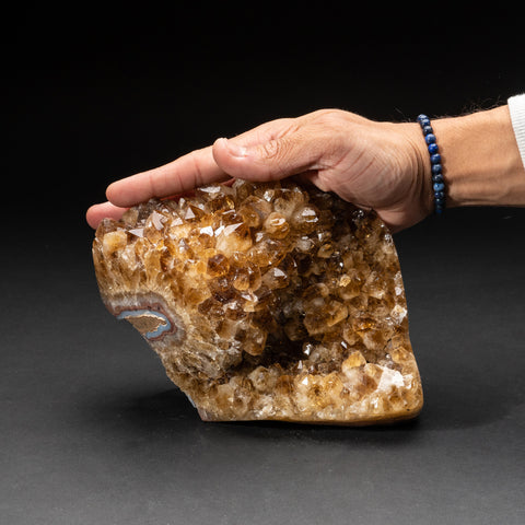 Citrine Quartz Crystal Cluster From Brazil (4.6 lbs)