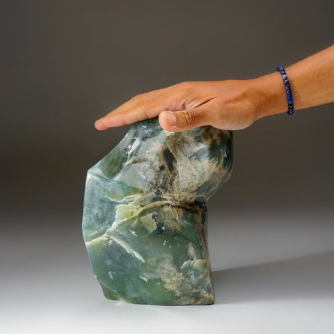 Polished Green Jade Freeform from Pakistan (11 lbs)
